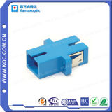 Fibra óptica LC / PC adaptador de una sola pieza