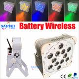 베스트셀러 LED 12PCS*18W 고성능 무선 건전지 빛