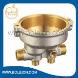 熱する造られた真鍮の循環の水ポンプハウジング