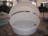 H-Hohe Qualitätspatio-Möbel-im Freien Weidentagesbett