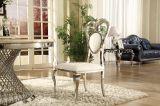 Самомоднейший красивейший стул венчания валика ткани ног нержавеющей стали