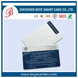 Cartão em branco do plástico do PVC da alta qualidade