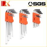 разводные гаечные ключи 9PCS штейновые Finnishing навальные, комплекты Hex ключа, Torx ключ