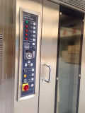 Bandejas giratórias do forno 32/forno giratório elétrico aço inoxidável para a produção do pão