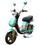 Vespa eléctrica de gran alcance del ciclomotor 300With500W con las ruedas grandes