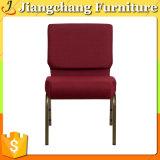 Cadeira profissional usada Stackable da igreja com Jc-An28 acolchoado
