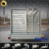 Cattle de serviço público Crate Trailer com Cage8*5 (SWT-CCT85)