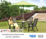 Paraguas plegable barato de aluminio grande con la base para la venta