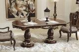 Ganasce di legno classiche della Mobilia-Tabella della sala da pranzo
