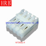 3.96 Nicken Natural Nylon Material IDC Connector mit Covers