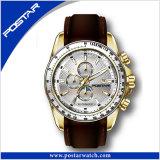 Form-Uhr-Mann-Quarz-wasserdichte Armbanduhr Psd-2287