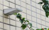 Las más nuevas 24 luces impermeables de la pared de la calle al aire libre de la lámpara de la seguridad del jardín de la luz del sensor de movimiento de la luz de calle de la energía solar del LED PIR