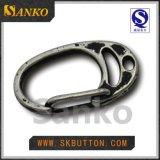 Grandes curvaturas da forma do metal D da manufatura para os sacos
