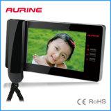 Handfree/télévision en circuit fermé fixée à la main, intercom visuel de degré de sécurité à la maison de PABX (A4-E6C-7)