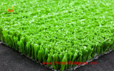 Infill sintetizado de la arena de la necesidad del césped del tenis de alta densidad del verde esmeralda