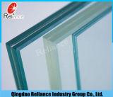el vidrio laminado de 6.38mm-12.38m m/templó la gafa de seguridad del vidrio/del vidrio laminado/capa Glass/PVB con la intercapa de seda