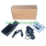 Emittente di disturbo portatile del telefono delle cellule delle 5 fasce, emittente di disturbo portatile di GPS, emittente di disturbo portatile di WiFi