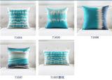Cuscino blu nordico dell'ammortizzatore della decorazione della stanza del cotone elegante di Sofathick