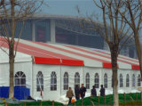イベントまたは展覧会のための屋外の結婚披露宴の玄関ひさしのテント