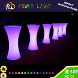 Pub Bar Garden Illuminated Glowing LED Bar Table
