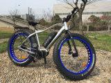 Bici gorda eléctrica del neumático de Hongdu con el MEDIADOS DE motor impulsor