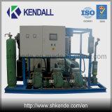 Unidade de condensação semi-hermética refrigerada a água para aplicação comercial