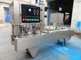 Automatischer linearer Typ Plastiksaft-Cup-Dichtungs-Maschine