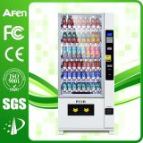 Großes Capacity Beverage u. Snack Automatic Vending Machine mit LCD Media