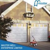 Acier galvanisé avec les portes de garage isolées par unité centrale, porte sectionnelle de garage d'épaisseur de 40mm, porte automatique de garage de roulement