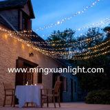 Luz de hadas 2016 de la Navidad para la decoración al aire libre