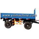 Saleのための4つの車輪Farm Trailer Tractor Tipping Trailer