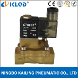 2V130-15-24V CC Voltage Brass Air Piloted Solenoid Valve