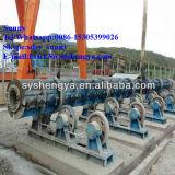 Pôle concret électrique faisant la machine de pipe de bâti de la colle de machine