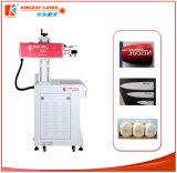 Máquina del grabador del laser del CO2 y máquina de la etiqueta de plástico