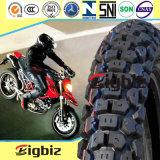 고품질 자연적인 관이 없는 기관자전차 타이어 (3.00-18)