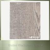 Painel de parede exterior de madeira da grão do aço inoxidável