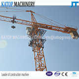 Grue à la tour 5t maximum chinoise de la norme Tc5010 avec la potence de 50m