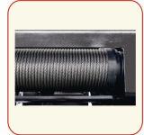 Type grue électrique de Whl-D de câble métallique d'espace libre faible