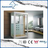 Quarto de chuveiro do banheiro e cerco simples de vidro do chuveiro (AS-D04)