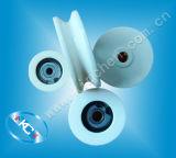 Guía de cerámica de la polea del rodillo de cerámica para la máquina de bobina