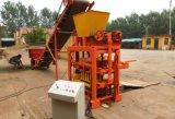 Machine concrète semi-automatique creuse et solide de Qtj4-35 de brique de fabrication