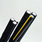 Изоляции кабеля XLPE пачки низкого напряжения тока кабель воздушной надземный алюминиевый