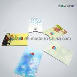 Блестящий бумажного владельца карточки RFID алюминиевой фольги преграждая втулку