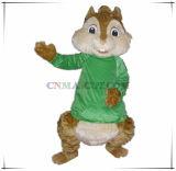 Costume gentile ed ingenuo del personaggio dei cartoni animati del Chipmunk della mascotte di Theadore