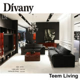 Divany Sectional Sofa mit Highquality Leather D-36