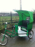 Pedal and Electric Rickshaw with 2 Function