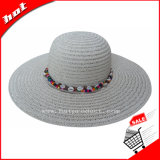 Hermoso adornar el sombrero del disco blando del sombrero