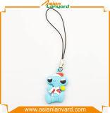 Веревочка телефона PVC Cutomized цветастая для мобильного телефона