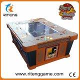 Máquina de jogo inglesa da tabela de jogos dos peixes do tiro da versão