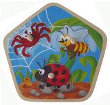 Головоломка воспитательных деревянных игрушек деревянная (34691)